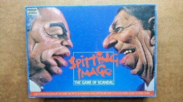 Spitting Image Board Game.by Parker